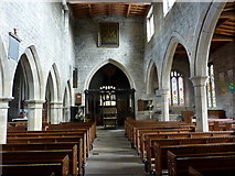SK3463 : Church interior, Ashover by Andrew Hill