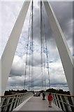 SO8453 : The Diglis Bridge by Bob Embleton