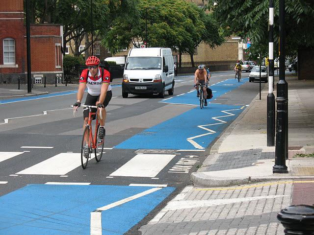 London cycle superhighway no. 7 (3)