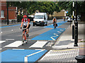 TQ3279 : London cycle superhighway no. 7 (3) by Stephen Craven