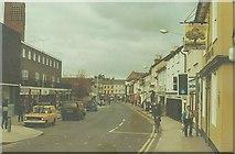 TM0458 : Ipswich Street, Stowmarket in 1983 by John Baker