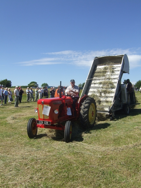 Hay baling at Trim
