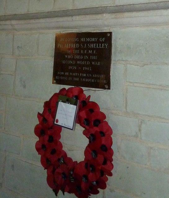 St Katherine, Exbury- wreath by Basher Eyre