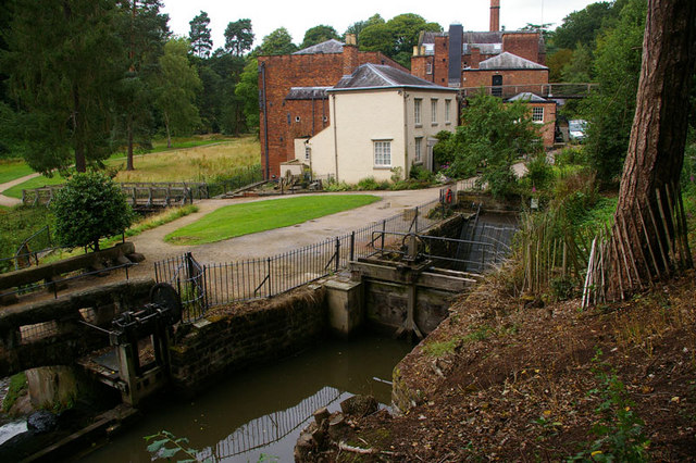 Quarry Bank Mill and Headrace