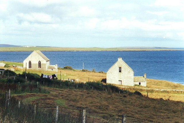 Old and New Kirk, Brinian, Rousay, Orkney