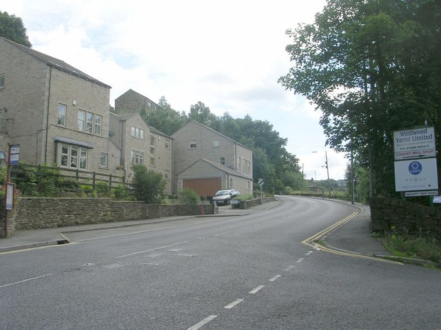 Dunford Road - viewed from Sweep Lane