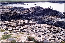 C9444 : Giant's Causeway, 1986 by David Gearing