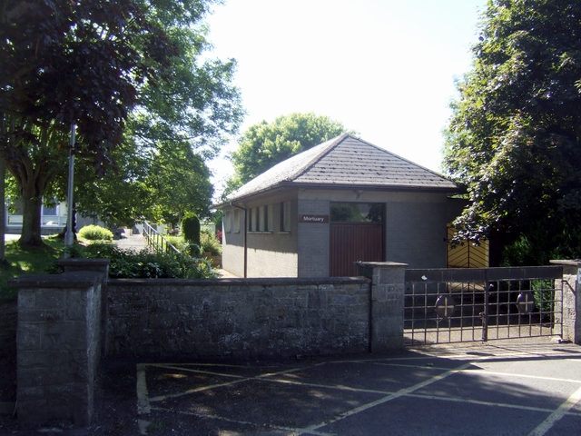 Mortuary at Trim Health Centre