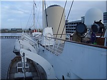 NT2677 : Lifeboats on HMY Britannia by Andrew Abbott