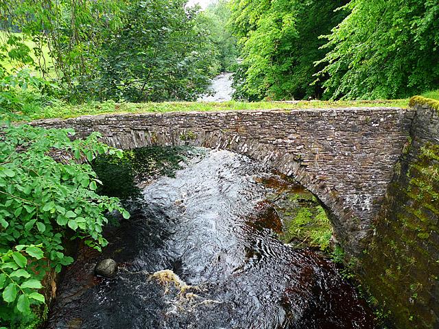 Old packhorse bridge, Braco