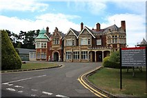 SP8633 : Bletchley Park Mansion by Paul Buckingham