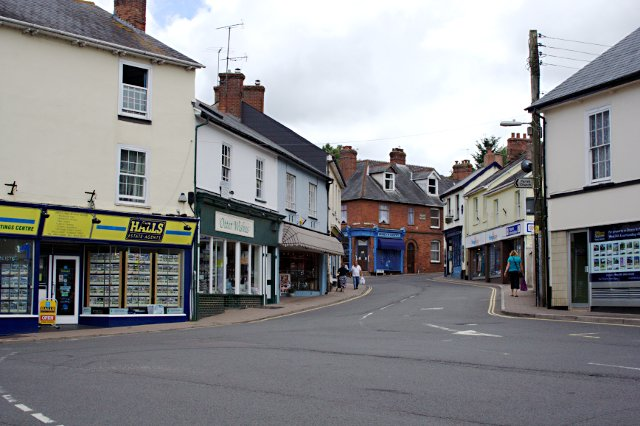 Ottery St Mary Town Centre