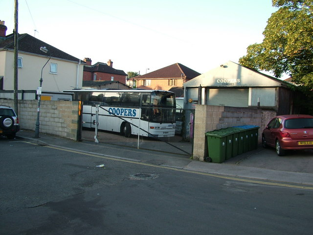 Coach depot, Lake Road, Woolston