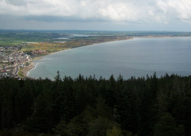 Dundrum Bay from Thomas's Mountain