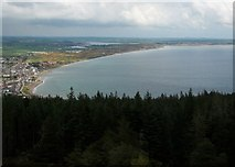 J3830 : Dundrum Bay from Thomas's Mountain by Eric Jones