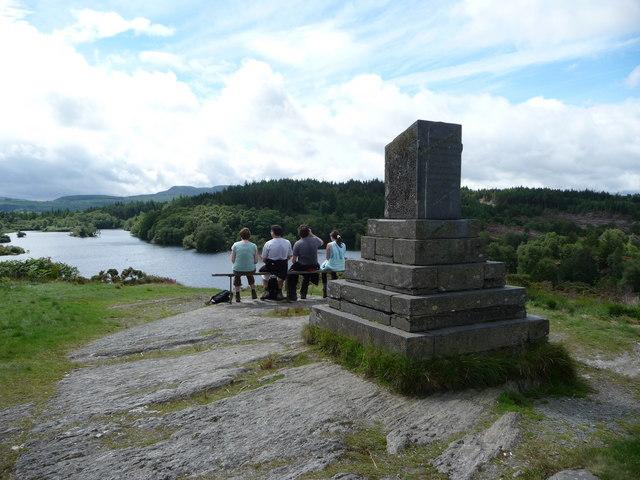 Llyn Elsi monument