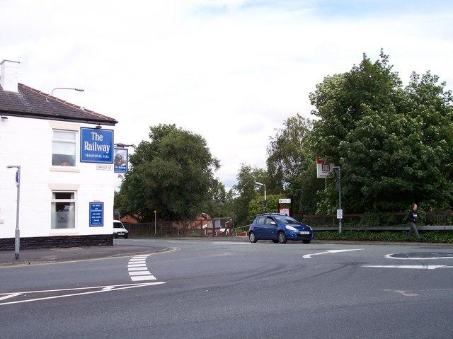 Junction of Enfield Street and Billinge Road