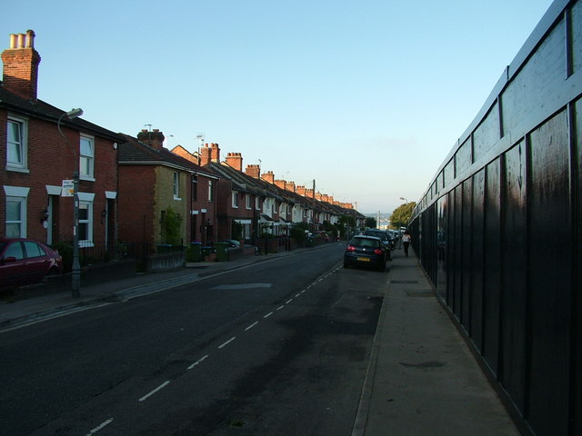 Houses in Victoria Road, Woolston