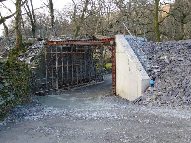 Railway Bridge near Beddgelert Station