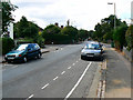 SP5009 : Looking west along Wentworth Road, Oxford by Brian Robert Marshall