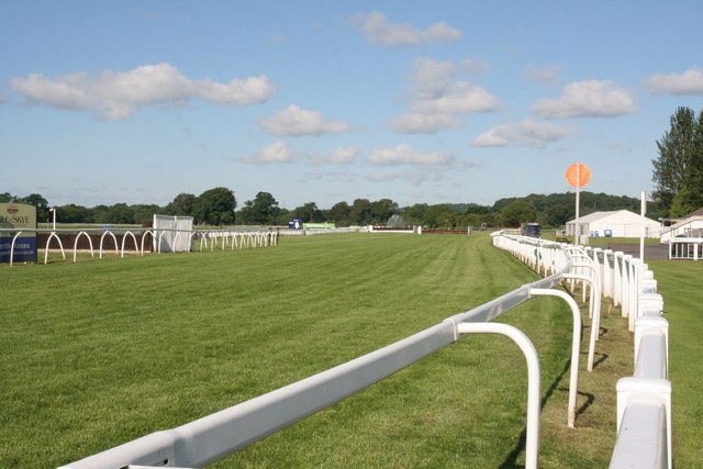 Winning post from the bend