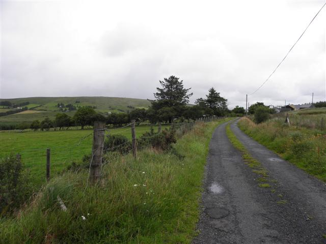 Road at Glashagh Beg