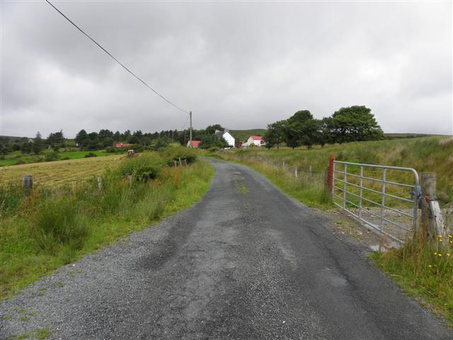 Road at Meenlaharry