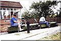 TL0942 : Summerfield Miniature Railway, Haynes, Bedfordshire by nick macneill
