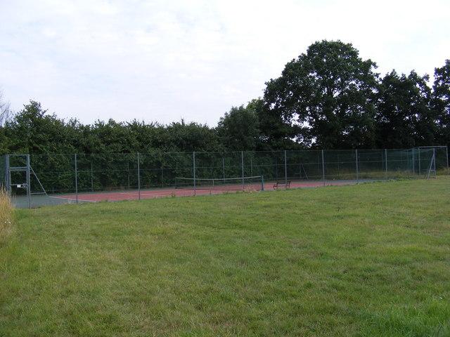Sweffling Tennis Court