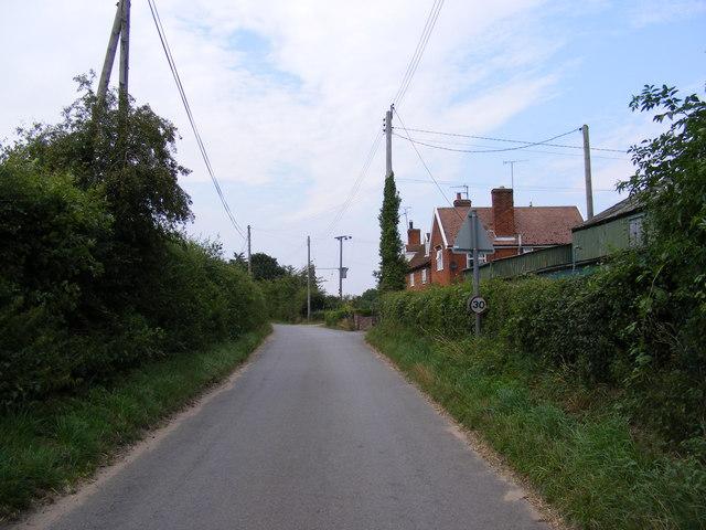 Glemham Road, Sweffling