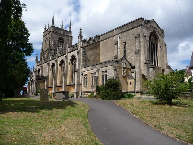 Midsomer Norton: parish church of St. John