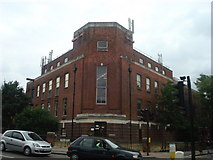 TQ4387 : Ilford telephone exchange by Stacey Harris