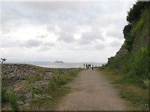 ST1972 : Coastal path near Cardiff Bay Barrage by Gareth James