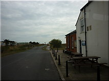 TA4115 : The road to Kilnsea beach by Ian S