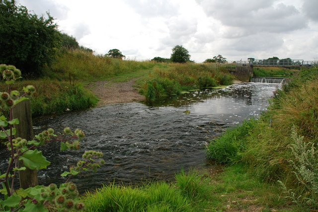 Aubourn Ford on the River Witham