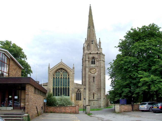 The Church of St Mary and St Nicolas, Spalding