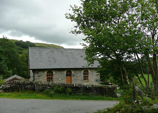 Former Chapel in Cwm Mwyro, Ceredigion