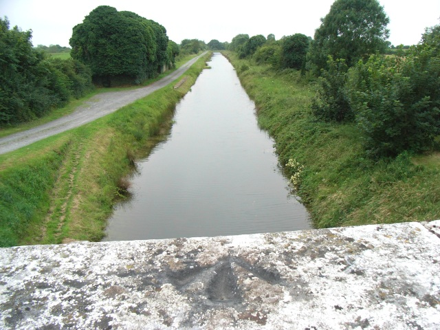Royal Canal from Archie's Bridge in Moneyfad, Co. Longford