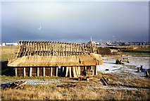 NZ3365 : Building under construction at Bede's World, Jarrow by David Gearing