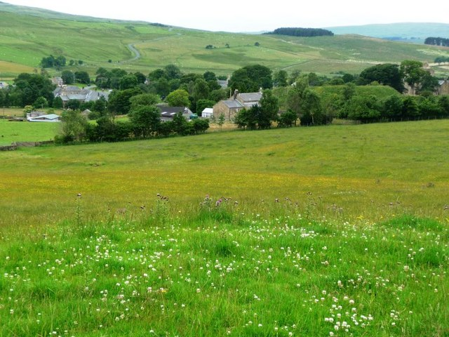 View towards Elsdon