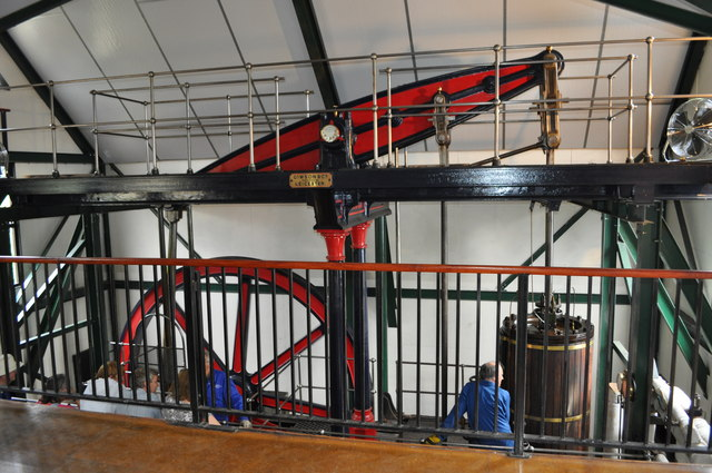 Gimson and Co. Water Pumping Beam Engine
