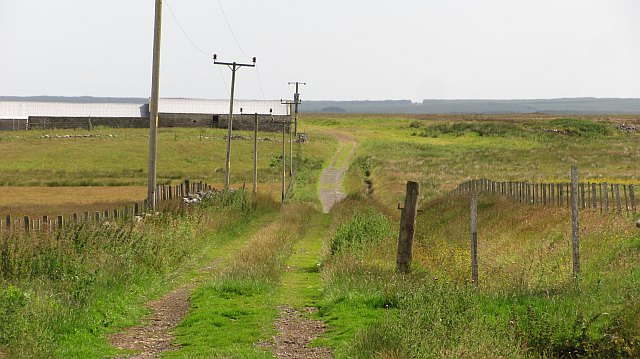 Road to Munsary Cottage