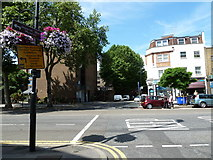 TQ3179 : Looking from Mead Row across Kennington Road towards Cosser Street by Basher Eyre