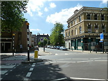 TQ3179 : Looking from Lambeth Road into Lambeth Walk by Basher Eyre