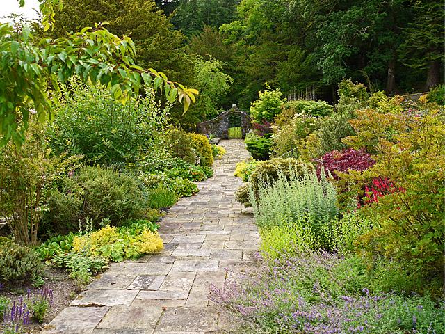 Walled garden at Aberuchill Castle