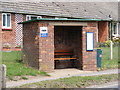 TM3878 : Bus Shelter on the A144  Norwich Road, Halesworth by Adrian Cable