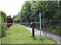 TM3878 : Footpath to Bungay Road by Adrian Cable