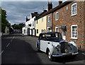 SU5794 : Vintage Limo. in Dorchester by Des Blenkinsopp