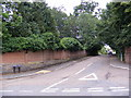 TG1504 : Priory Road, Hethersett by Adrian Cable