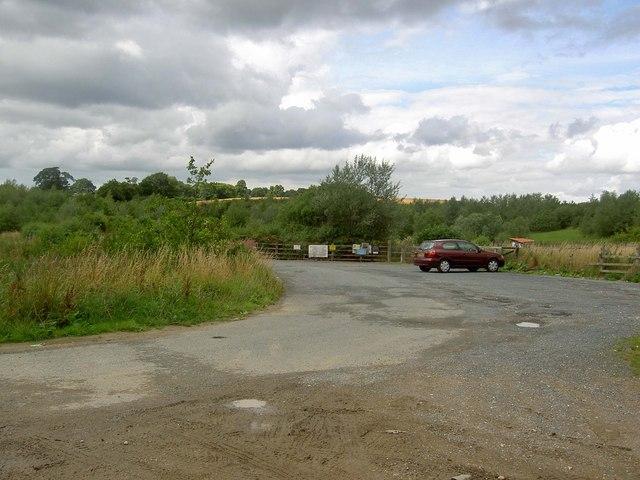 Ackton angling club car park